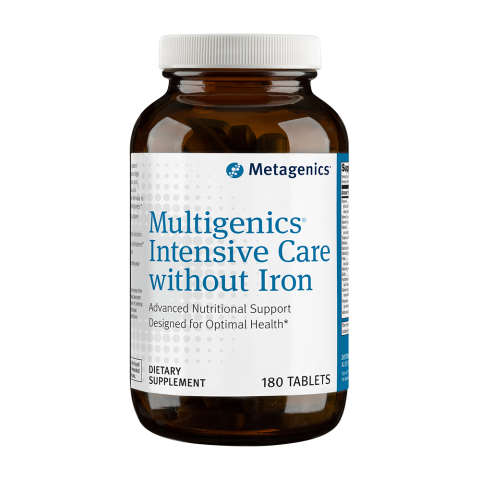 Multigenics® Intensive Care without Iron